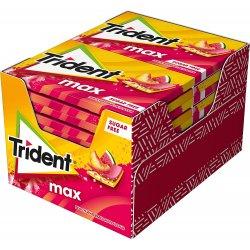 Chewing Gum Trident Anguria e Pesca 12 Pacchetti Max