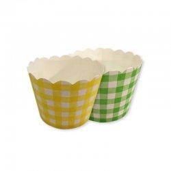 Pirottini a Quadri per Cupcake