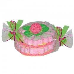 Torta di Marshmallow Rosa 380 grs