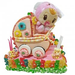 Torta di Caramelle Passeggino Bebé 1200 gr