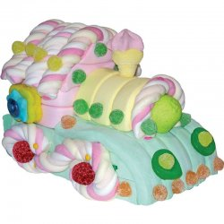 Torta Caramelle Treno 540 grs