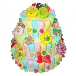 Torta di Caramelle 3 Piani Multicolore 850 gr