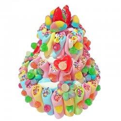 Torta Multicolore di Dolciumi 550 grs