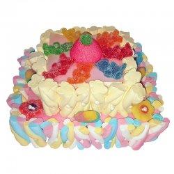 Torta di Caramelle Rettangolare 350 g
