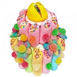 Torta di Caramelle Multicolore 300 g