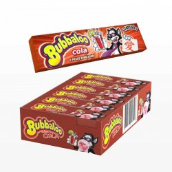 Chicles Bubbaloo Stick de Cola 18 paquetes