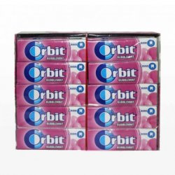 Chicles Orbit Bubblemint 30 paquetes