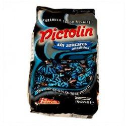 Caramelos de Regaliz Intervan 1 kg