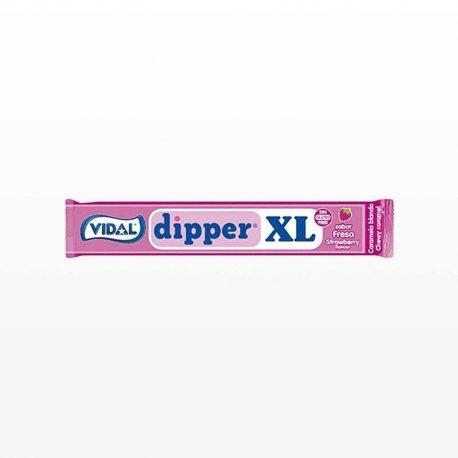 Caramelos Masticables Dipper de Fresa XL 100 uds